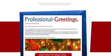 christmas email newsletter templates  designmaz