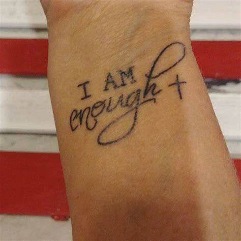 i am enough tattoo 33 best holy images on