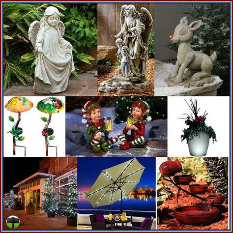 outdoor solar powered decorations for christmas