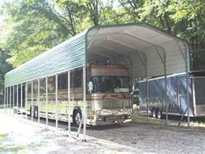metal rv carports and motorhome covers probuilt steel