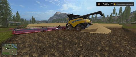 Large Ls New Header Mod For Farming Simulator 2017