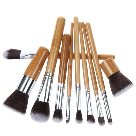 Make Up For You Brush Set bamboo eco friendly 10 makeup brush set makeup vidalondon
