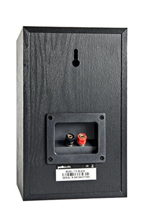 polk audio t15 bookshelf speakers pair black import it all