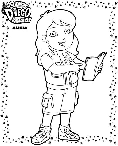 diego coloring pages n 41 coloring pages of diego go diego go
