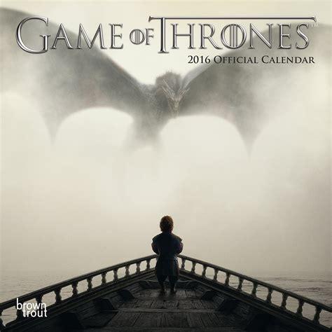 Calendar 2018 Of Thrones Kalender 2018 Of Thrones Europosters Se