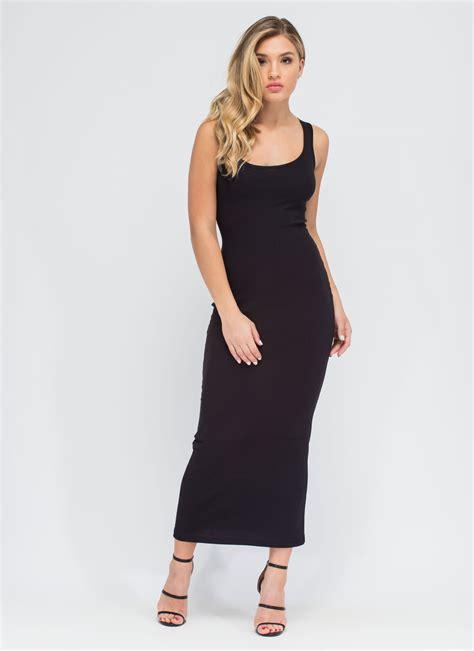 Basic M Dress by Simple Black Maxi Dress In Style Fashion Gossip
