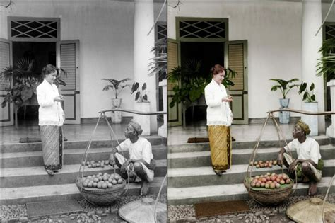 Katarsis Hitam Putih 14 foto restorasi indonesia zaman baheula hasilnya wow banget