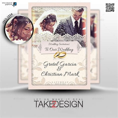 37 Awesome Psd Indesign Wedding Invitation Template Designs For Weddings Psdtemplatesblog Invitation Template Psd