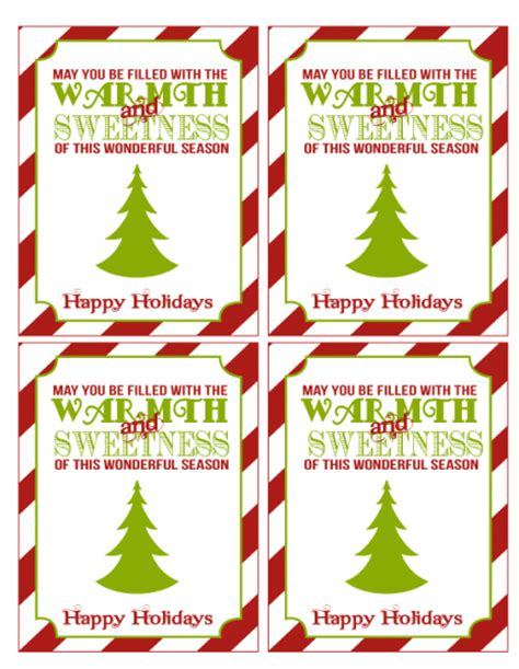 free printable christmas gift tags for food free christmas printables from love the day catch my party