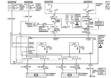 headlight wiring diagram lstech camaro  firebird forum discussion