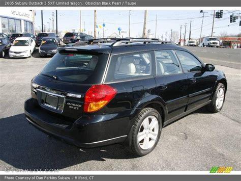 2005 subaru outback 2 5xt 2005 subaru outback 2 5xt limited wagon in obsidian black