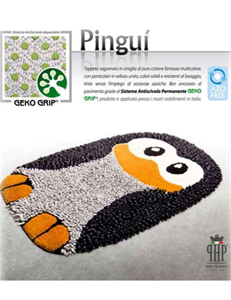 tappeti ciniglia tappeto bagno antiscivolo in ciniglia pingu 236