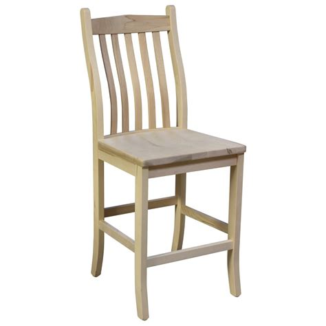 bunker hill dining bar chair amish crafted furniture