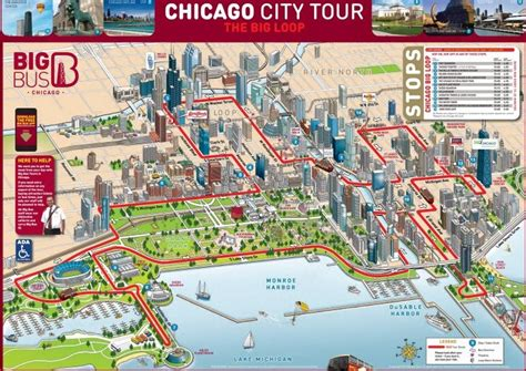 chicago boat tour map which chicago bus tours are best free tours by foot