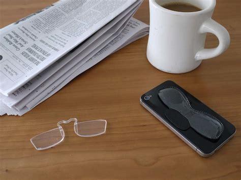 Lego Mini Benign bookofjoe smartphone glasses quot peel and stick onto the back of your phone quot