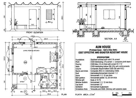 auroville house designs auroville earth institute