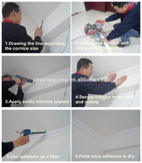 cornice installation xps ps polystyrene ceiling moulding decorative cornice