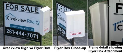 real estate yard signs creekview realty