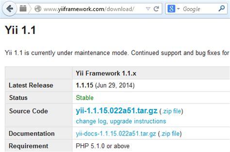 tutorial web dengan yii dunia edukasi dan ti aplikasi web dengan yii framework 1