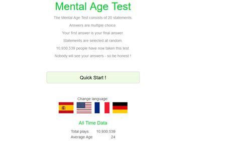 edad de test mental newhairstylesformen2014 com test de edad mental 191 cu 225 l es tu edad mental neoteo