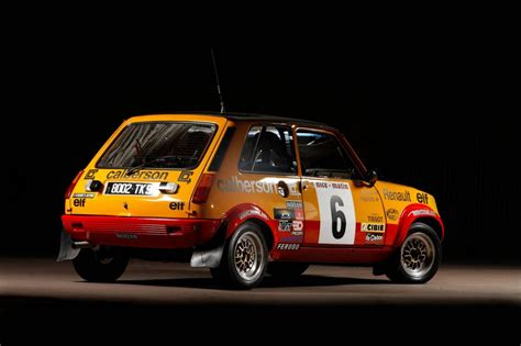 renault rally renault 5 alpine rally cars restored to run in 2012 rallye