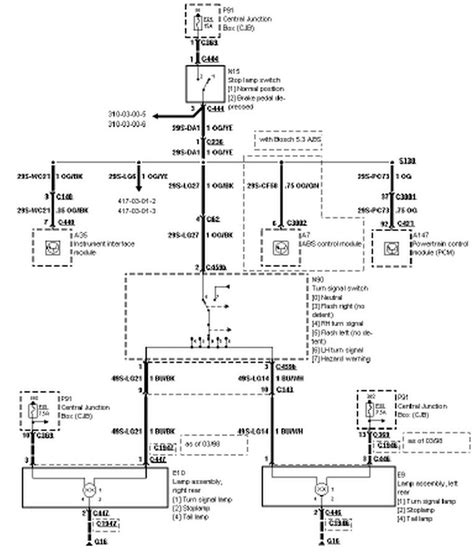 wiring diagram for 1998 ford contour free