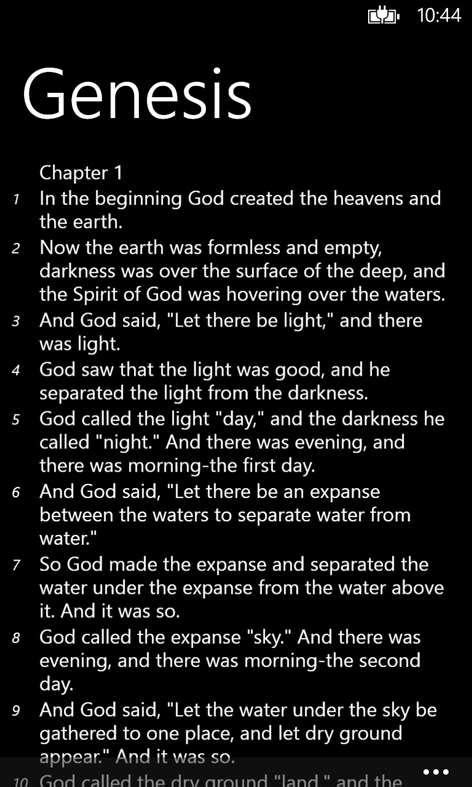 Holy Bible - NIV for Windows 10 - Free download and