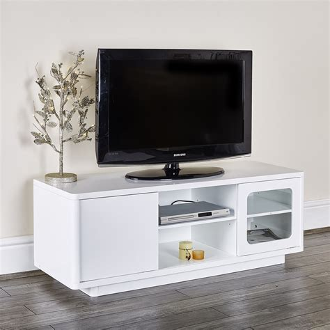 modern white tv entertainment unit abreo home furniture