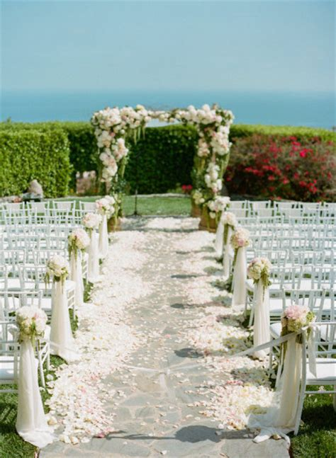 Outdoor Wedding Ceremony Decorations by By Jessy Wedding Ceremony Decorations