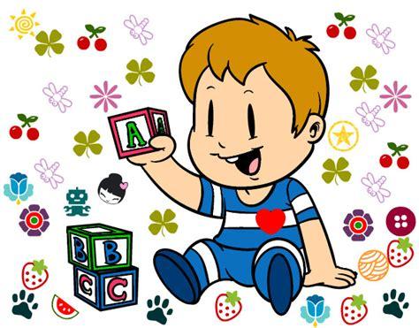 imagenes infantiles de otoño dibujo de ni 241 o con piezas pintado por emialonsi en dibujos