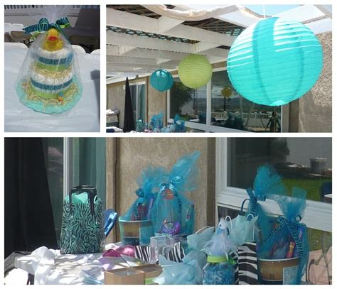 baby boy theme blue baby shower decorations best baby decoration
