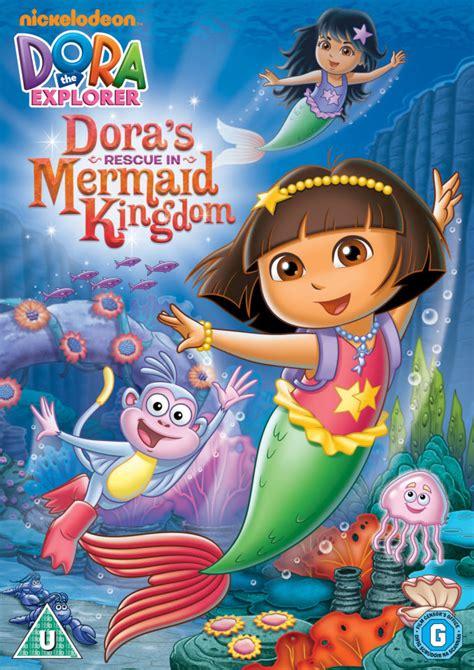 kingdom mermaids of eriana kwai volume 3 books the explorer doras rescue in the mermaid kingdom dvd