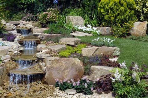 Backyard Water by Waterfalls As Landscape Garden Design Elements Wycepypa