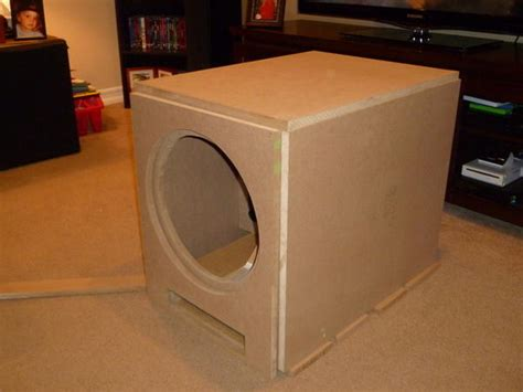 home theater subwoofer box design  ideas