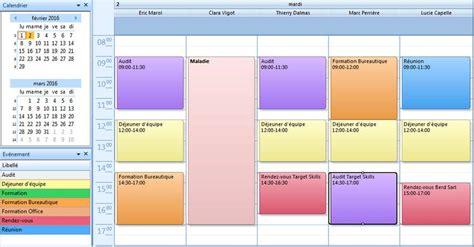 Calendrier Partage Cr 233 Er Un Agenda Partag 233 Avec Planningpme