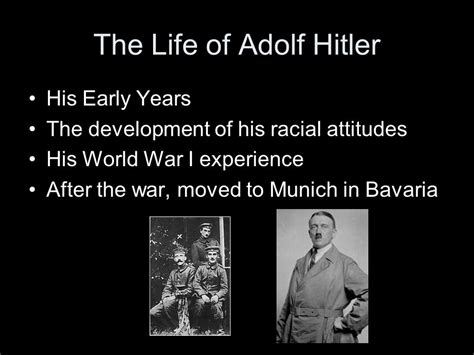 adolf hitler early years biography the rise of adolf hitler and nazism ppt video online