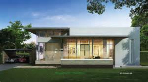 unique single story home designs modern single story house
