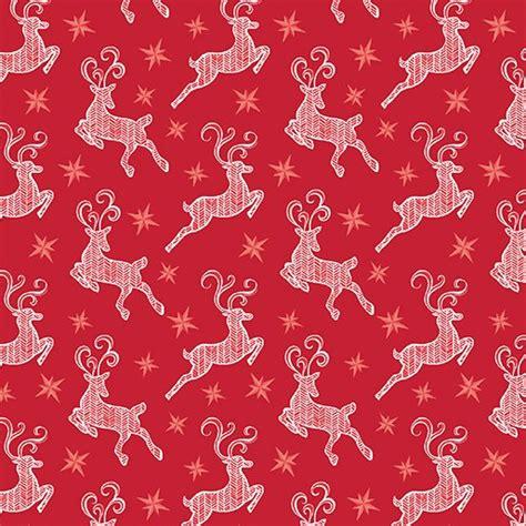 pattern for fabric reindeer nordic reindeer small 018861017