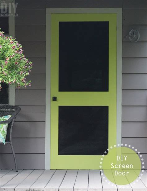 where can you buy door can t find a screen door you like build your own instead