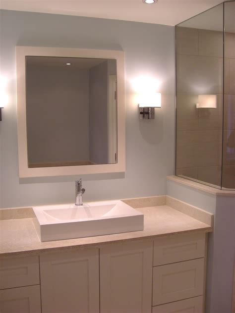 Custom Made Mirror Cabinets Custom Built Vanity And Mirror With Built In Medicine Cabinet