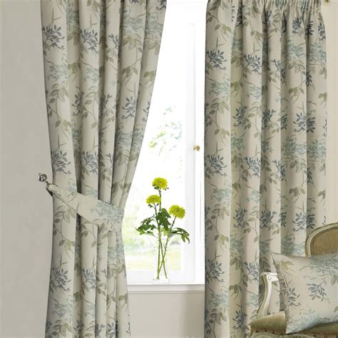 mostyns curtains mostyn s agapanthus lined curtains curtains palmers