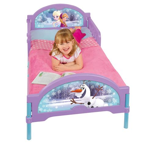 frozen beds disney frozen cosytime toddler bed new official ebay