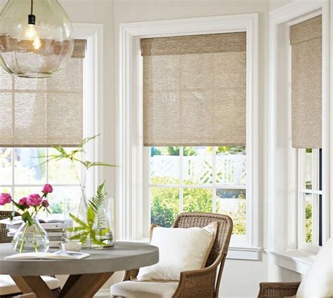 window treatments pottery barn fiber cordless shade pottery barn home