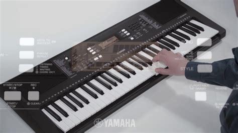 Keyboard Yamaha E363 yamaha psr e363 digital keyboard overview
