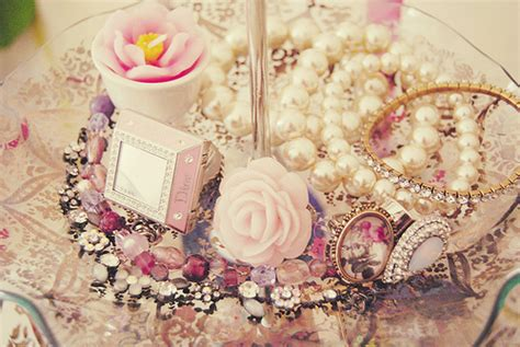 girly jewelry wallpaper hipster teen fashion style girly clothes pink