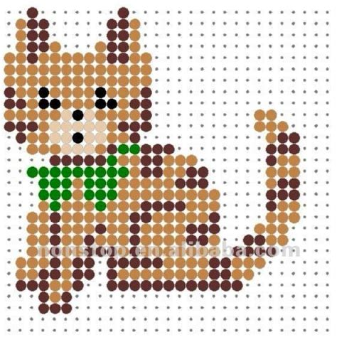 animal perler bead patterns hama perler bead patterns