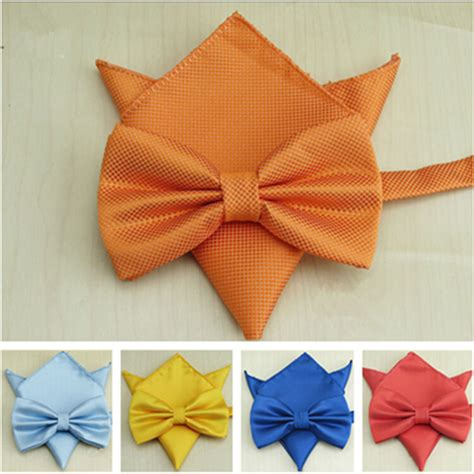 butterfly bow tie set aliexpress buy 20 colors classic solid bowtie set
