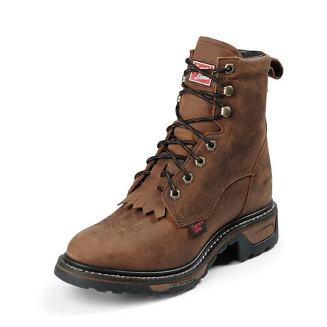 s tony lama 174 8 quot tlx 174 work packer boots 173158