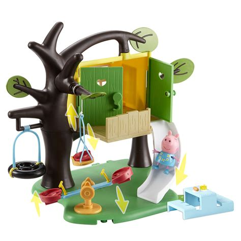 peppa pig house playset b m peppa tree house playset 294124 b m