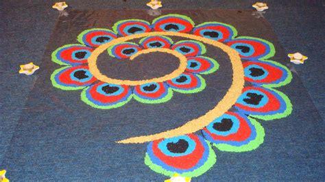 pattern of rangoli art 2017 happy diwali rangoli designs peacock patterns